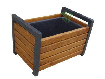 Donica Drewniana Olinda 90 Parkaria Producent Donice Drewniane Outdoor Storage Box Outdoor Storage Outdoor Furniture