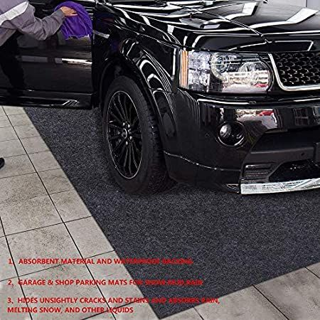 Incstores Standard Grade Nitro Garage Roll Out Floor Protecting Parking Mats Diamond 7 5 X 17 Amazon Com In 2020 Garage Mats Car Garage Parking Garage