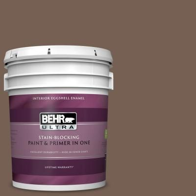 Behr Ultra 5 Gal 760b 6 Traditional Eggshell Enamel Interior Paint And Primer In One Interior Paint Behr Paint Primer