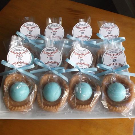 Baseball Baby Shower  Favors   Baby Shower Favors by TheBathofKhan
