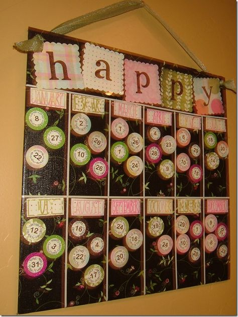 good way to help remember family and friends birthdays
