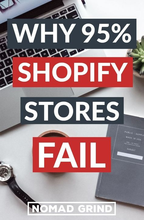 Why So Many SHOPIFY STORES FAIL 2019 (95%) REVEALED
