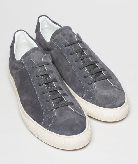 Common Projects Achilles Vintage Suede Grey   Sneakers   Pinterest   Common  projects and Dapper
