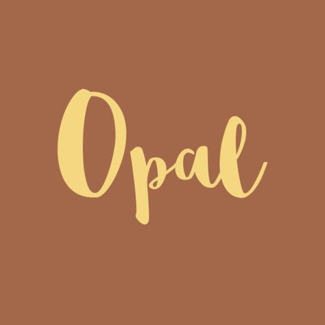 Opal - Precious Baby Names Inspired By Jewels And Gemstones - Photos