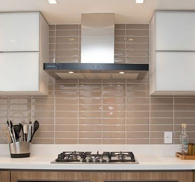 Brown And White Kitchen Kitchen Tiles Design Wall Tiles Design Kitchen