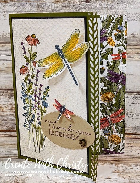 Dragon Garden, Stampin Up Catalog, 3d Cards, Stamping Up Cards, Butterfly Cards, Heartfelt Creations, Pretty Cards, Creative Crafts, Greeting Cards Handmade