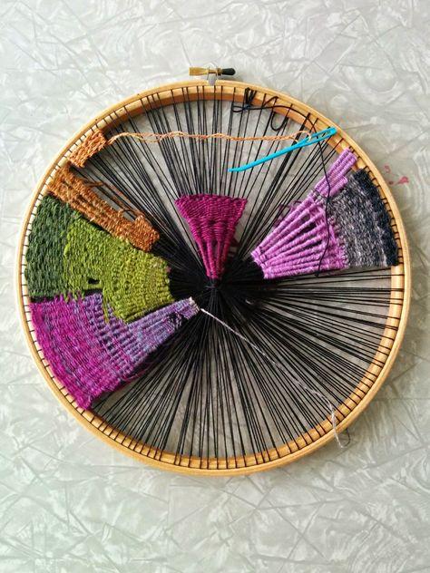 craftophilia: PROJECT REPORT 2 - Circular Weaving