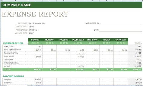 Weekly expense report is used to manage weekly expenses in detail - microsoft expense report