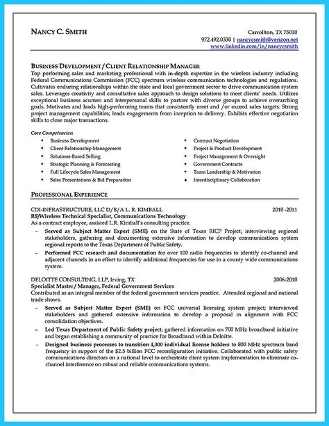 awesome Marvelous Things to Write Best Business Development - medical device resume