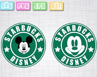 Disney Coffee Svg Png Eps Clip Art Svg And Dxf Digital File Mickey Svg Disney Mug Disney Shirt Starbucks Disney Scrapbook Coffee Svg Starbucks Logo