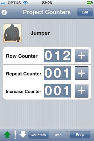 Knit Counter Lite free knitting app