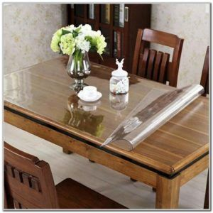 Clear Dining Room Table Pads Extendable Glass Dining Table