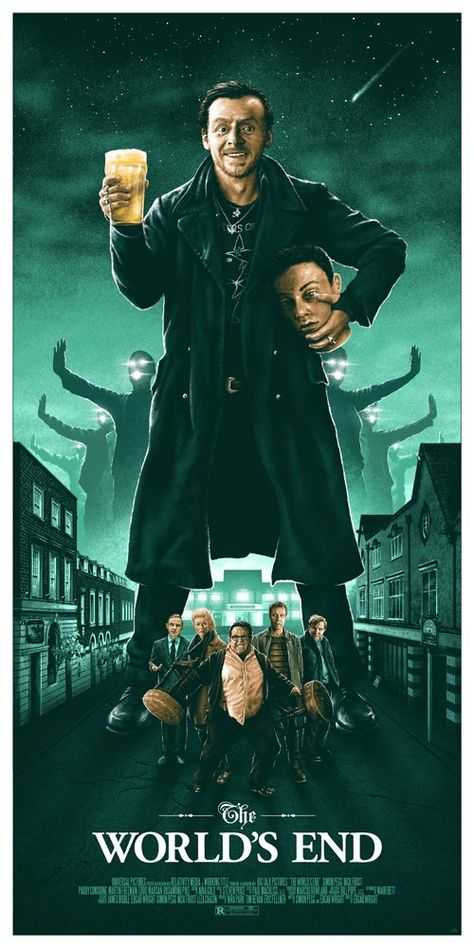 The World's End (2013) [500x1000] By Adam Rabalais