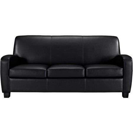 Find Many Great New Used Options And Get The Best Deals For Faux Leather Sofa Black At The Best Online Prices At Ebay Free Shipping For Man Faux Leather Sofa
