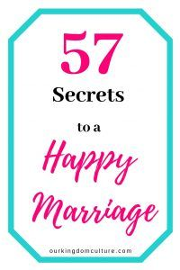 57 Practical Tips for a Happy Marriage   Our Kingdom Culture
