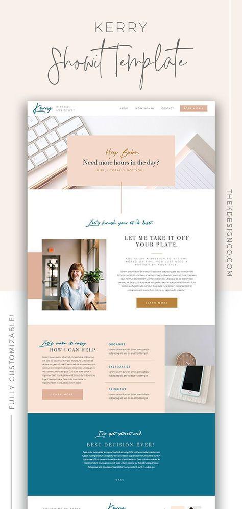 Branding & Design for Women in Business - K Design Co.
