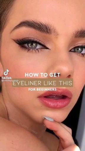 Dope Makeup, Edgy Makeup, Makeup Eye Looks, Eye Makeup Art, Makeup For Brown Eyes, Glamour Makeup, Makeup Tutorial Eyeliner, No Eyeliner Makeup, Skin Makeup