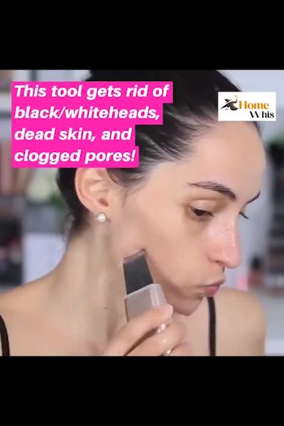 Remove Blackhead and Deeply cleanse your skin with the ultrasonic skin scrubber 🌸 DEEP FACIAL CLEANSE —Through high-frequency vibration, the skin spatula cleans blackheads, whiteheads, keratin, dead skin, acneleaving the skin feeling hydrated, cleaner and more revitalized 🌸 ENHANCED SERUM ABSORPTION —Used along wit