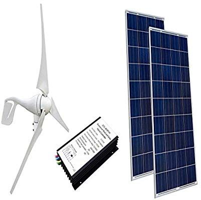 Amazon Com Eco Worthy 24 Volts 600 Watts Wind Solar Power 1pc 12v 24v 400 Watt Wind Turbine Generator Wind Turbine Generator Solar Power Kits Solar Panels