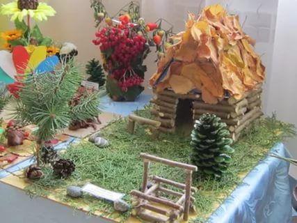Дары природы поделка в садик