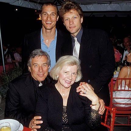 Jon His Parents And Matthew Mcconaughey Jakebongiovi Jonbonjovi Jbjsoulkitchen Hamptonwater Bo Jon Bon Jovi Bon Jovi Album Bon Jovi