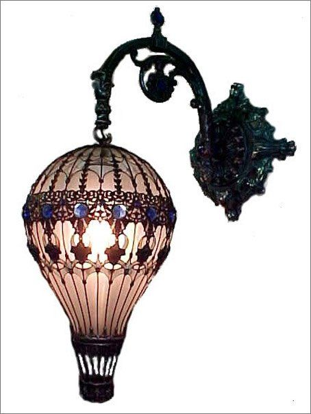 air balloon lamp, light bulb. Luftballong av glödlampa.,,Oh Yes Its Perfectly Awesome !