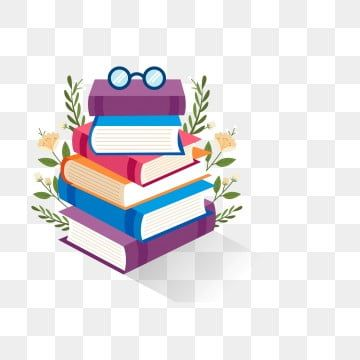 Hd Stack Of Books Cartoon Books Stack Of Books Cartoons Vector