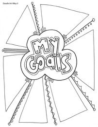 I was growing up, my dad always sat us down the first week of school and asked us to come up with some goals for the school year. Of course, I always rolled my eyes and put up a big. School Goals, Student Goals, 1st Day Of School, Beginning Of The School Year, Middle School, School Week, School 2017, School Ideas, Goals Printable