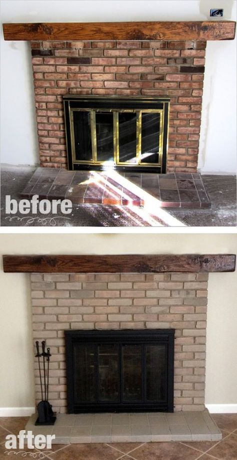 fireplace remodel paint stain fireplace fireplace doors rh pinterest com