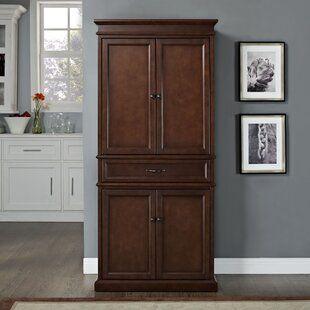 Loyola 72 Kitchen Pantry Joss Main In 2020 Pantry Cabinet Pantry Storage Crosley Furniture