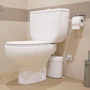 Un Toilette Sanibroyeur Peut S Installer Partout Sanibroyeur Toilettes