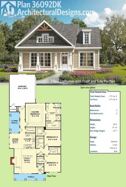 New House Plans Large Family Craftsman Style Ideas Craftsman House Plans Craftsman House Plan Craftsman House