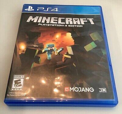 Minecraft Playstation 4 Edition Sony Playstation 4 2014 Ps4