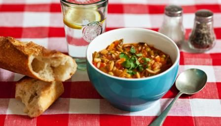 Kids minestrone soup recipe italian vegetable soup italian bbc food recipes kids minestrone soup forumfinder Image collections