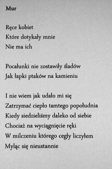 Pin By Agata On Polska Poezja Inspirational Phrases Love