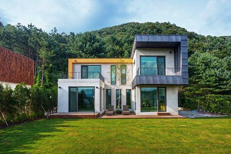 12 Spectacular Facades Of South Korean Homes Korea Best