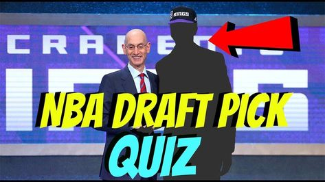 NBA Draft Lottery 2018 QUIZ  - CAN YOU GUESS These NBA PLAYERS DRAFT