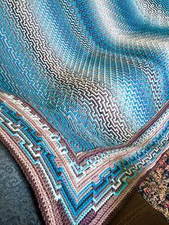 Ravelry: Havana Afghan CAL pattern by Tinna Thórudóttir Thorvaldsdóttir