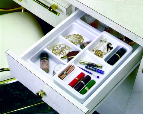 organize make up in an orderly fashion with rev a shelf s cosmetic rh pinterest com