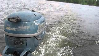 1954 Evinrude Lightwin 3hp Outboard Motor Carb Adjust Outboard Motors Outboard How High Are You