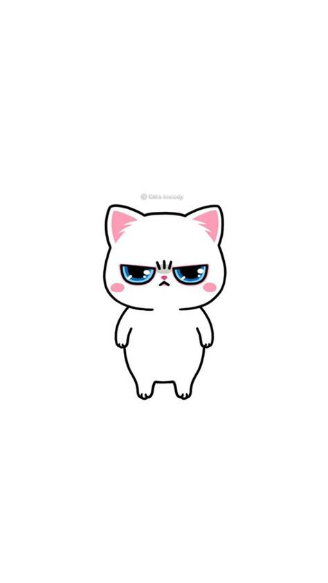 Animals Background And Cat Image Cute Drawings Cute Doodles Cute Cartoon Wallpapers Background cute wallpapers cats