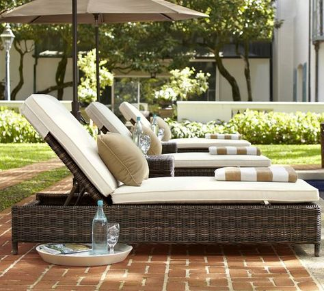 torrey all weather wicker chaise espresso in 2019 home remodel rh pinterest com