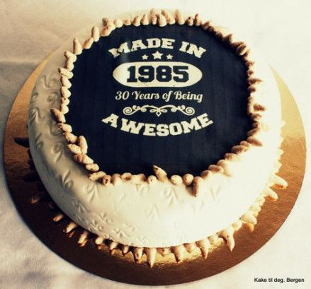 38 Ideas Birthday Ideas For Him Men 35th Birthday Cake For