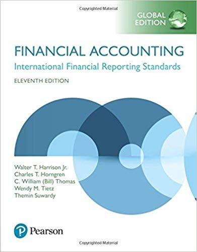 Instructor S Manual Solution Manual For Title Financial Accounting Global Edition Edition 11th Edition Author S Financial Accounting Accounting Financial