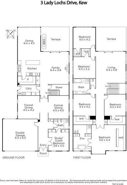 3 Lady Lochs Drive Kew Vic 3101 Image 8 Bedroom House Plans 6 Bedroom House Plans House Blueprints