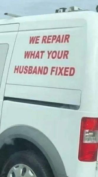 We Repair What Your Husband Fixed Call Us At 951 656 5624 Repair Appliance Repair Schedule Service