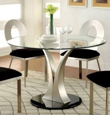 Valo Collection Cm3727t Table 45 Round Dining Table With 8mm