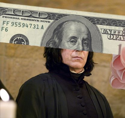 i'm snape. Benjamin snape. I lived twice. yup. this is so funny I never even thought twice