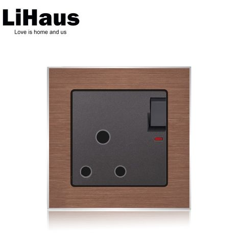 15a 3 Pin Wall Socket And Water Heater Outlet With Images Water Heater Supplies Electrical Equipment