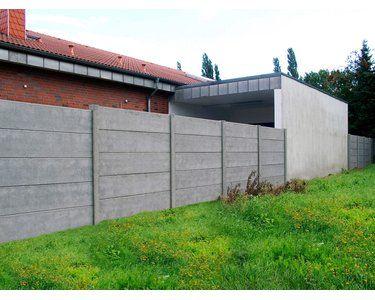 Betonzaun Platte Glatt 200 Cm X 38 5 Cm X 3 Cm Kaufen Bei Obi Betonzaun Zaun Betonplatten
